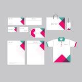 Abstrakcjonistyczny biznesowy materiały szablon Fotografia Stock
