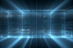 Abstrakcjonistyczny biznesowy nauki lub technologii tło ilustracja wektor