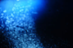 Abstrakcjonistyczny Błękitny błyskotania tło Obraz Royalty Free
