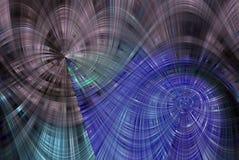 abstrakcjonistyczny bliźniaczy twirl ilustracja wektor