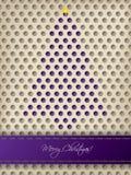 Abstrakcjonistyczny bożego narodzenia kartka z pozdrowieniami projekt Zdjęcie Stock