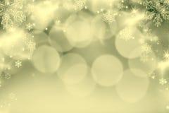 abstrakcjonistyczny Bożenarodzeniowy tło z wakacyjnymi światłami Zdjęcia Royalty Free