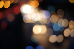 Abstrakcjonistyczny bokeh kolor Zdjęcia Stock