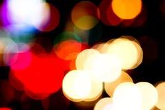 Abstrakcjonistyczny bokeh lekkiego skutka wizerunku plamy wizerunku tła kolor Obraz Royalty Free