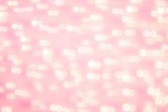 Abstrakcjonistyczny bokeh okrąża tło Zdjęcia Royalty Free