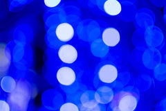 Abstrakcjonistyczny bokeh tło bożonarodzeniowe światła Obrazy Stock