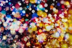 Abstrakcjonistyczny bokeh tło tła bożych narodzeń target2110_0_ abstrakcjonistyczni Świąt tło tła bożych narodzeń target309_0_ ye royalty ilustracja