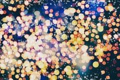 Abstrakcjonistyczny bokeh tło tła bożych narodzeń target2110_0_ abstrakcjonistyczni Świąt tło tła bożych narodzeń target309_0_ ye ilustracja wektor
