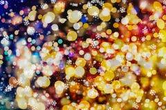 Abstrakcjonistyczny bokeh tło tła bożych narodzeń target2110_0_ abstrakcjonistyczni Świąt tło tła bożych narodzeń target309_0_ ye ilustracji