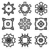 Abstrakcjonistyczny breloczka symbol Zdjęcia Royalty Free
