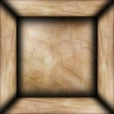 Abstrakcjonistyczny brown tynku pokój fotografia royalty free