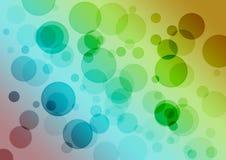 Abstrakcjonistyczny bubles tło Zdjęcia Royalty Free