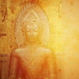 Abstrakcjonistyczny Buddysta Fotografia Royalty Free