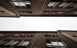 Abstrakcjonistyczny budynek Obrazy Stock