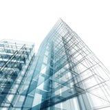 Abstrakcjonistyczny budynek Fotografia Royalty Free