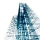 Abstrakcjonistyczny budynek Zdjęcie Stock