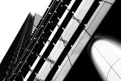 Abstrakcjonistyczny budynek Zdjęcia Stock