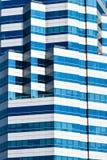 Abstrakcjonistyczny budynek architektury projekt PSA obraz stock