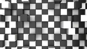 Abstrakcjonistyczny checker tło Obrazy Stock