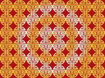 Abstrakcjonistyczny chiński nowego roku tło Zdjęcia Stock