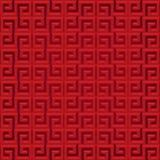 Abstrakcjonistyczny chiński tło i wzór ilustracja wektor