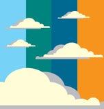 abstrakcjonistyczny chmurny niebo Zdjęcie Stock