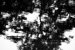 Abstrakcjonistyczny cień na wodzie zdjęcie stock