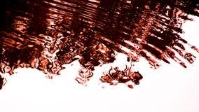 Abstrakcjonistyczny cień na wodzie zdjęcia stock