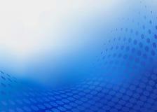 Abstrakcjonistyczny Ciemny BlueDot projekta tło Fotografia Royalty Free