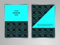 Abstrakcjonistyczny ciemny geometryczny projekt z przetykaniem cienkie linie Fotografia Stock