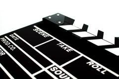 Abstrakcjonistyczny Clapperboard Zdjęcia Stock