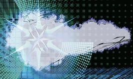 Abstrakcjonistyczny clorful grunge zaświeca tło Zdjęcia Royalty Free