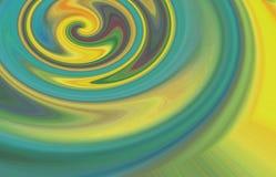Abstrakcjonistyczny colour mic ilustraci skład ilustracji