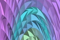 Abstrakcjonistyczny colour mic ilustraci skład ilustracja wektor
