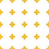 Abstrakcjonistyczny colourful wektorowy tło z kwiatami Zdjęcia Royalty Free