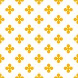 Abstrakcjonistyczny colourful wektorowy tło z kwiatami Obraz Royalty Free