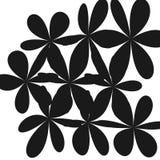 Abstrakcjonistyczny Cudacki kwiatu tło Fotografia Royalty Free