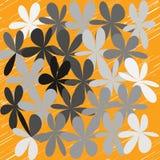 Abstrakcjonistyczny Cudacki kwiatu tło Zdjęcia Royalty Free