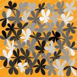 Abstrakcjonistyczny Cudacki kwiatu tło Obraz Stock