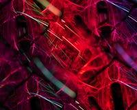 Abstrakcjonistyczny cyfrowy fractal kreatywnie, szablonu elementu futurystyczny artystyczny, elegancja, dynamiczna royalty ilustracja