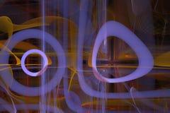 Abstrakcjonistyczny cyfrowy fractal stylu wybuchu prąd pęka nowożytnej władzy szablonu projekta magicznego kreatywnie pluśnięcie ilustracja wektor