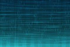 Abstrakcjonistyczny cyfrowy pionowo i horyzontalny elettric niebieskiej linii tła ruch, animaci technologia Zdjęcie Stock