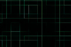 Abstrakcjonistyczny cyfrowy pionowo i horyzontalny elettric zielonej liny tło, tekstury technologia ilustracja wektor