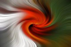 Abstrakcjonistyczny cyfrowy sztuka zawijasa skutek Zdjęcie Royalty Free