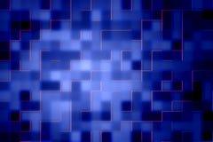 Abstrakcjonistyczny cyfrowy tło w błękicie Obrazy Royalty Free