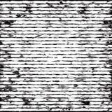 Abstrakcjonistyczny czarno biały pasiasty grunge tło ilustracji