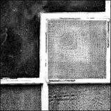 abstrakcjonistyczny czarny biel Zdjęcie Stock