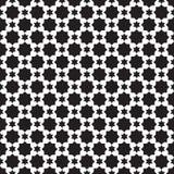 Abstrakcjonistyczny czarny i biały deseniowy tło ilustracji