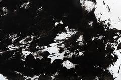 Abstrakcjonistyczny czarny i biały tło ilustracja wektor
