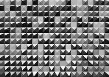 Abstrakcjonistyczny czarny i biały tło Zdjęcia Royalty Free